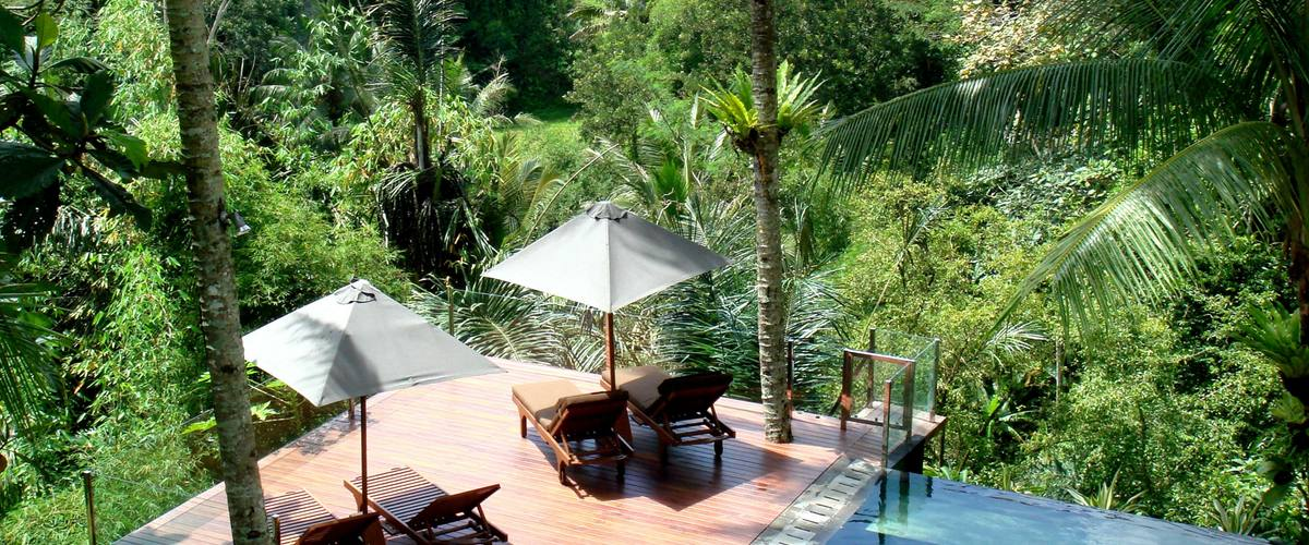 Vacation Rental Villa Kalisha - The Perfect Escape - Amazing Jungle and Rice Field Views