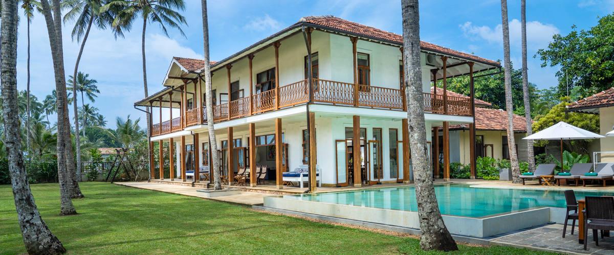 Vacation Rental Stunning beachfront villa on a gorgeous beach