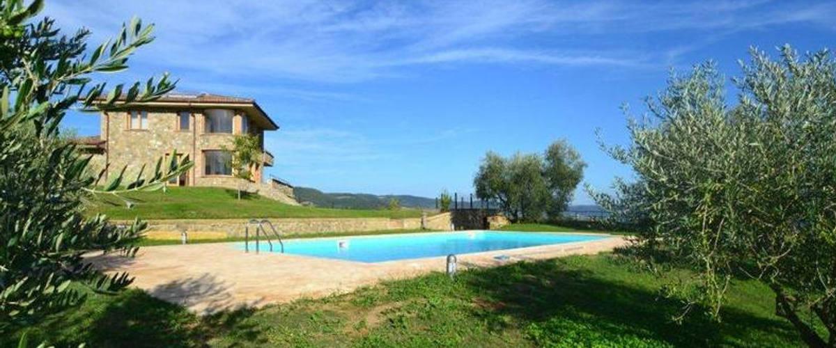 Vacation Rental Villa Bolsena