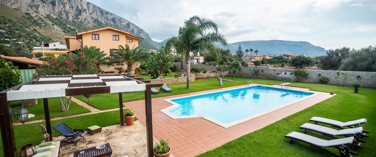 Vacation Rental Villa Cinisi - 6 Guests
