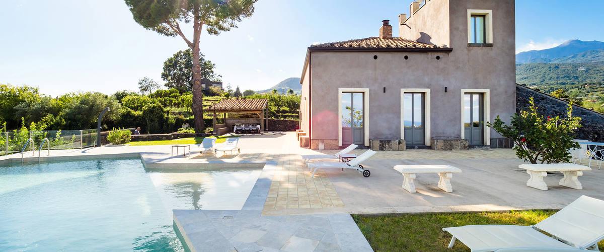 Vacation Rental Villa Etnea - 5 Guests
