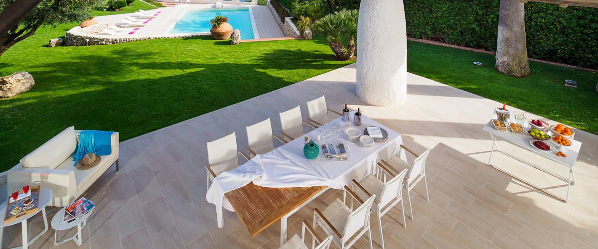 Vacation Rental Villa Luna Blu - 8 Guests