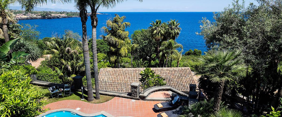 Vacation Rental Villa Acireale - 8 Guests