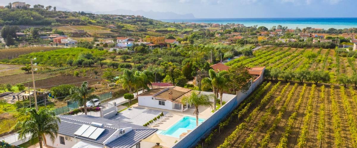 Vacation Rental Villa Segesta