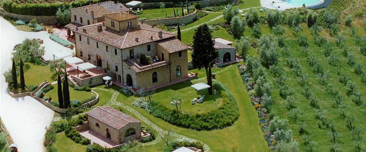 Vacation Rental Monti Del Chianti - 12 Guests