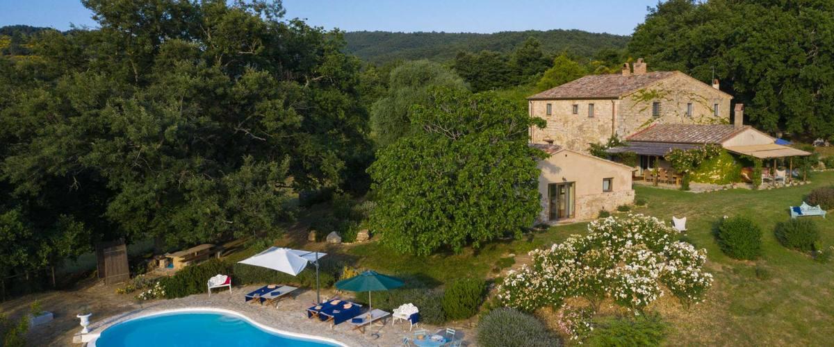 Vacation Rental Villa La Rocca - 10 Guests