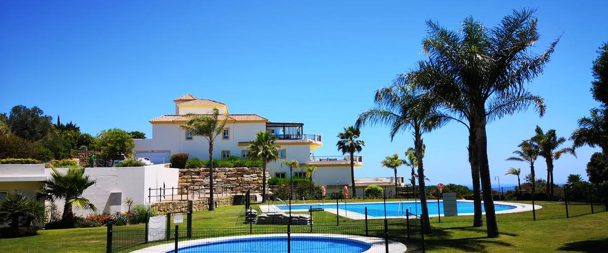 Vacation Rental San Roque Club 4 Br Penthouse With Sea View And Large Terrace