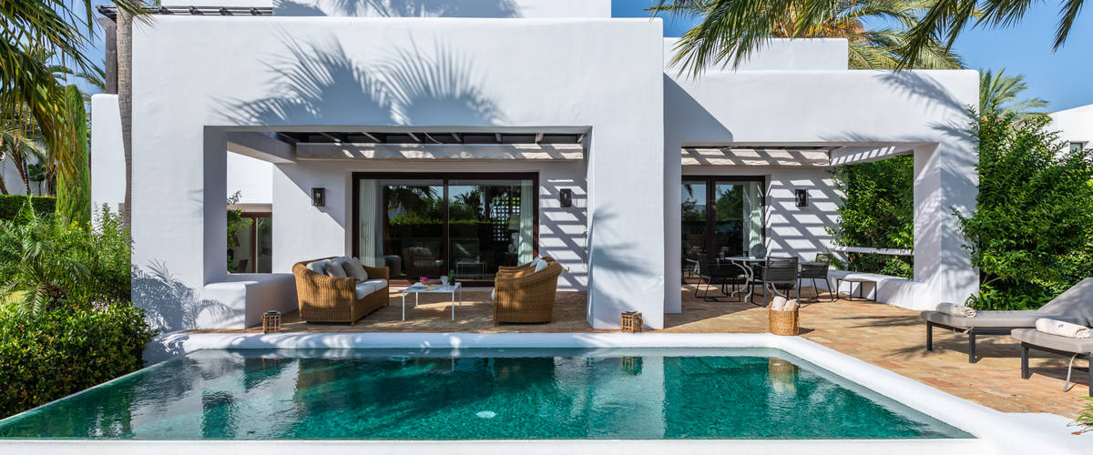 Vacation Rental Finca Cortesin - 2 Br Villa W. Pool