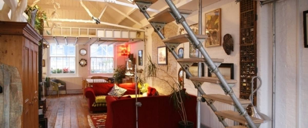 Vacation Rental Esthers' Boho Hoxton Loft N1
