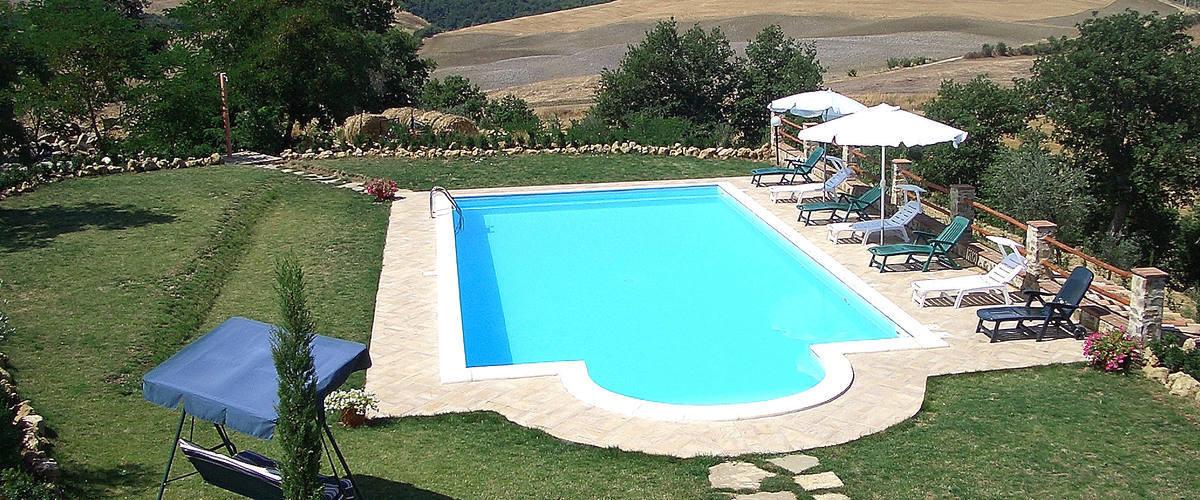 Vacation Rental Villa Amiata Main House