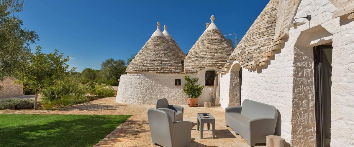 Vacation Rental Trullo Natura - 7 Guests