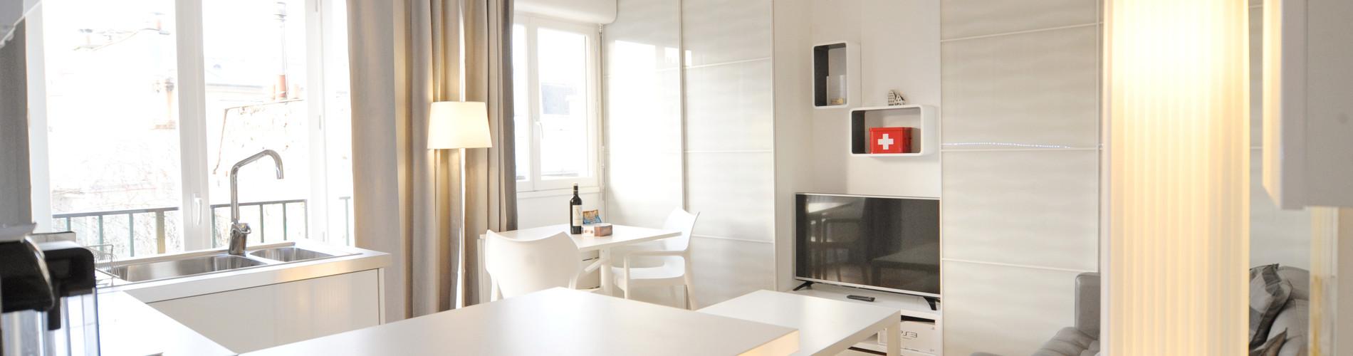 Vacation Rental Batignolles Studio