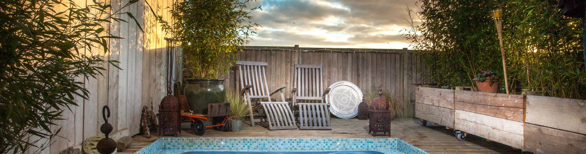 Vacation Rental Kasbah Hot Tub