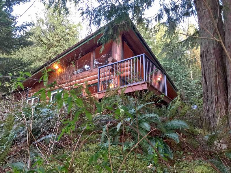 Vacation Rental Pet Friendly Log Cabin