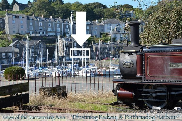 Vacation Rental Harbour Station View - Porthmadog