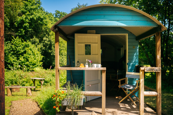 Vacation Rental Bramble Shepherd's Hut