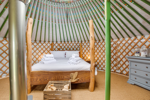 Vacation Rental Barn Owl Yurt