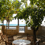 Rental House -garden in front of the beach - Ferrari Land