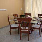 Rental 1BHK Fully Furnished Service Apt (SA2) with Independent working Modular kitchen
