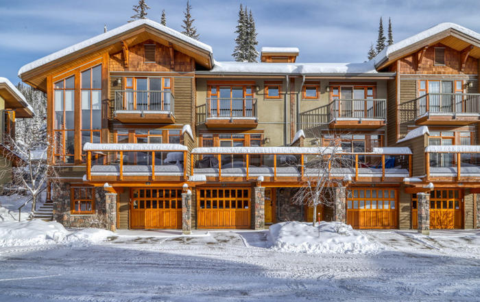 Woodhaven 5 - 5035 Valley Drive. A Short Term Rental In Sun Peaks, Sun Peaks