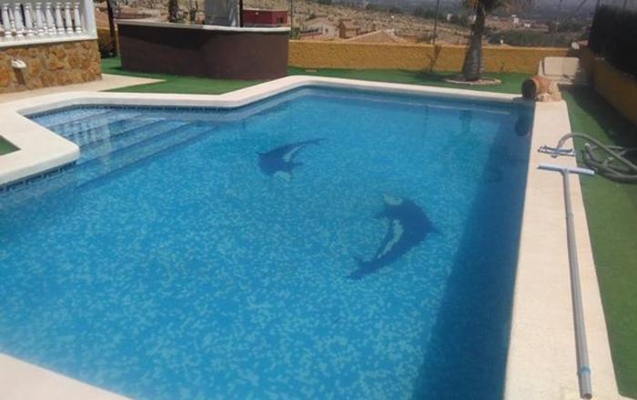 Detached 5 Bed Villa With Private Pool Bigastro, Bigastro