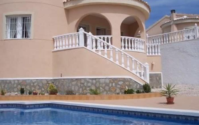 Holiday Rental Detached Quesada Villa With Private Pool, Alacant