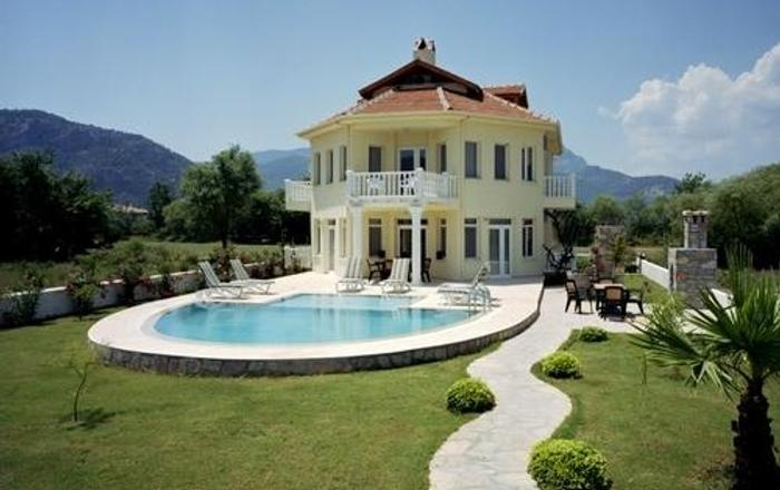 Fabulous Villa With 6 Spacious Bdrms, All Ensuite, In Mature Landscaped Garden, Dalyan