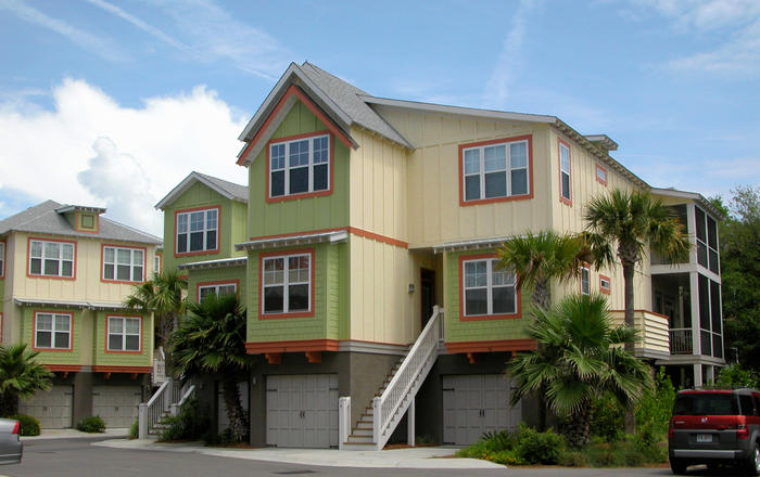 Folly Beach Townhome,