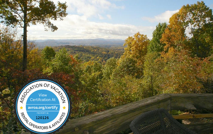 50 MILE VIEWS! HotTub/Kings & Queens/Gas FP/WiFi/Massage Chair/Fire Pit/Kid Friendly, Asheville