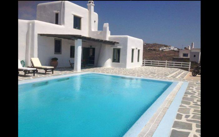 Very beautiful villa/pool-Excellent sea view!, Mikonos