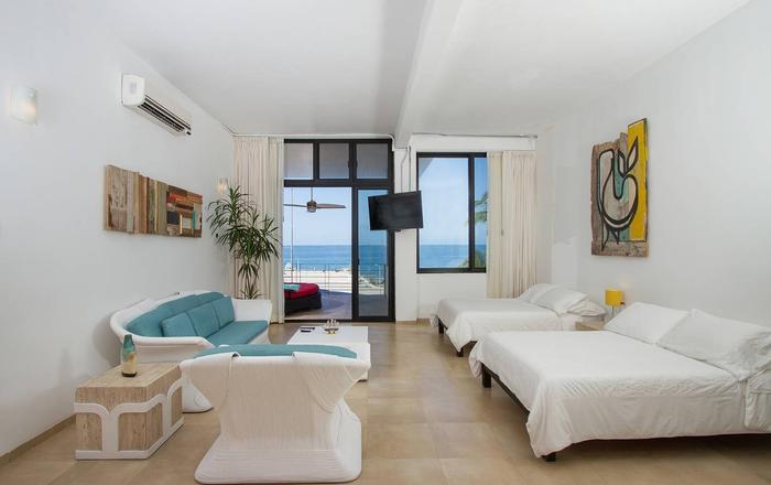 """Espléndida habitación para 4 personas - """"Tres Islas"""", Mazatlán"""