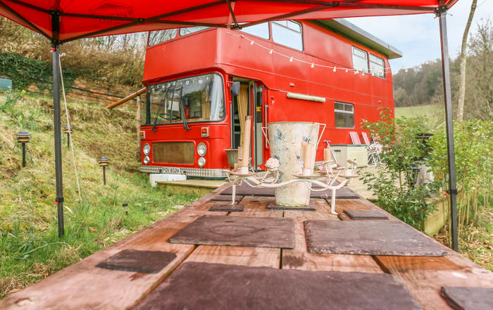 The Red Bus!, Newnham On Severn