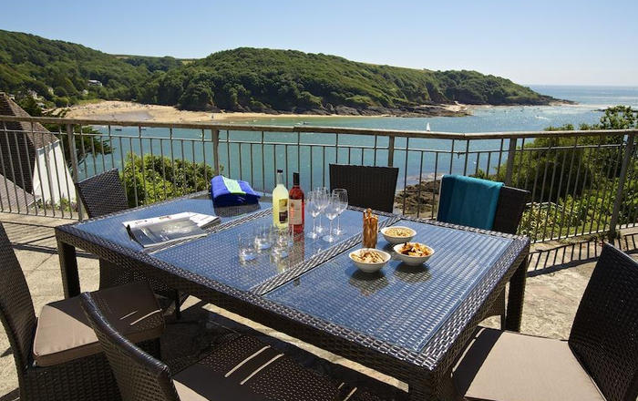 The Garden House, Woodside Beach, Salcombe