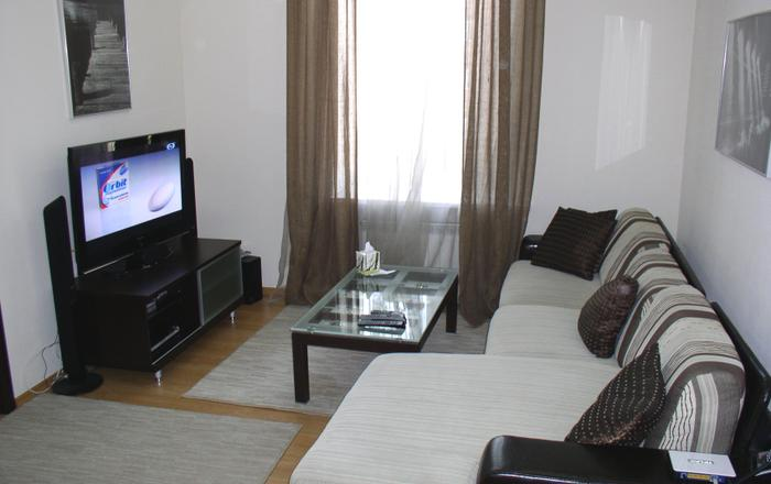 Lux. Two bedrooms. 21 Yaroslaviv Val strr. Centre, Kiev