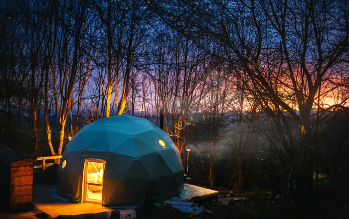 The Tree Dome, Ludlow