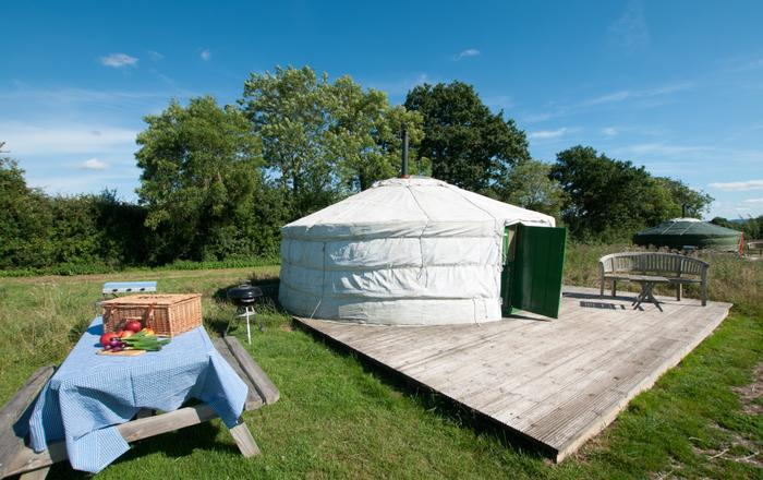 Gotten Down Yurt, Taunton