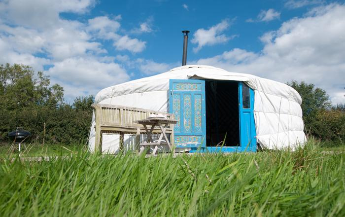 Moonslade Yurt, Taunton