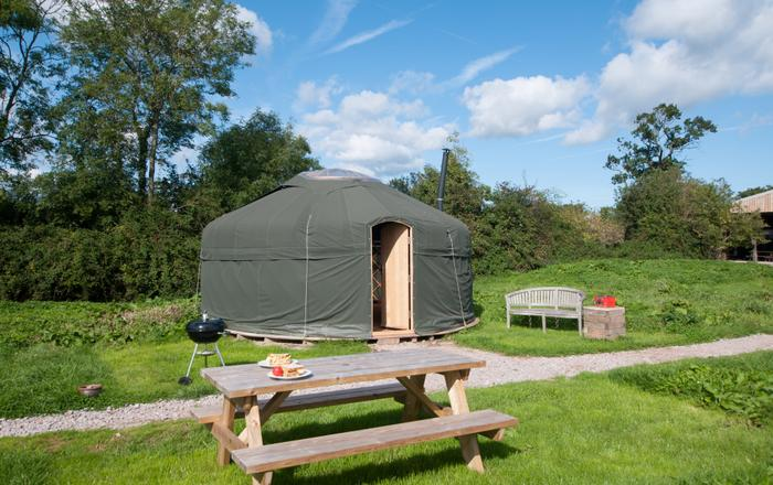 Meadow Yurt, Taunton