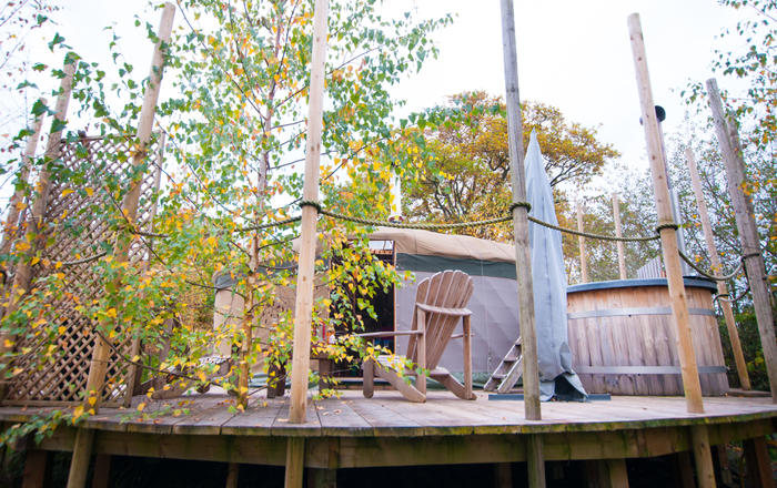 Bedwen Yurt, Welshpool