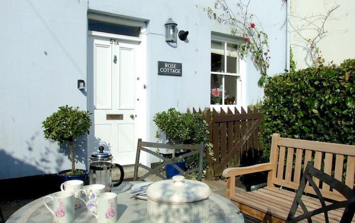 Rose Cottage (Cornwall), Fowey