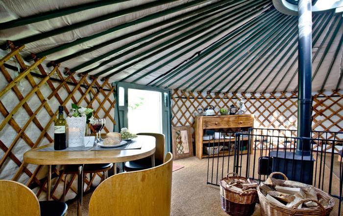 Yurt 6, East Thorne Farm, Bude