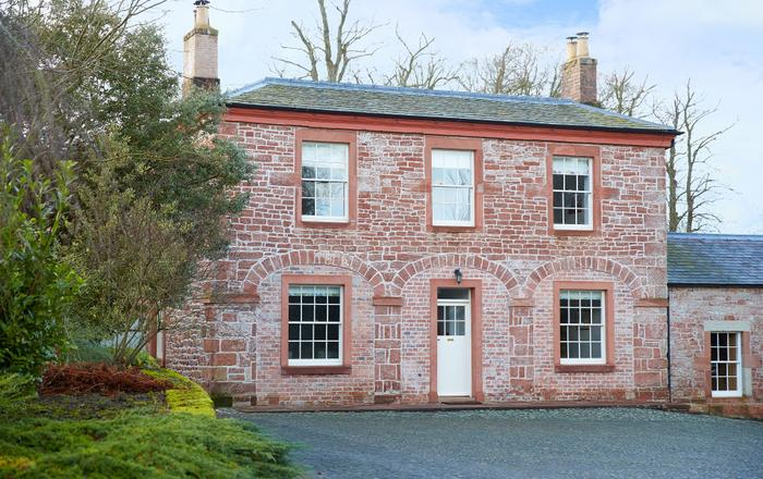Coach House (Cumbria), Netherby Hall, Longtown