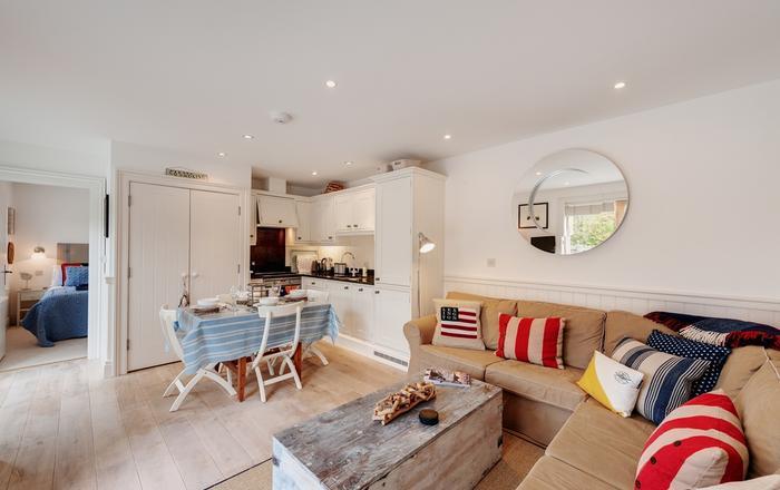 1 Garden Apartment, Prospect House, Hallsands