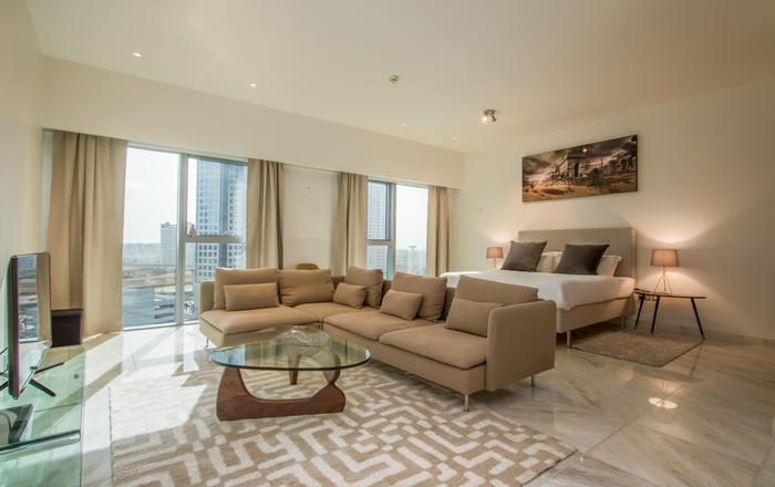 Impeccable Brand New Studio in Central Park Towers, DIFC #437, Dubai