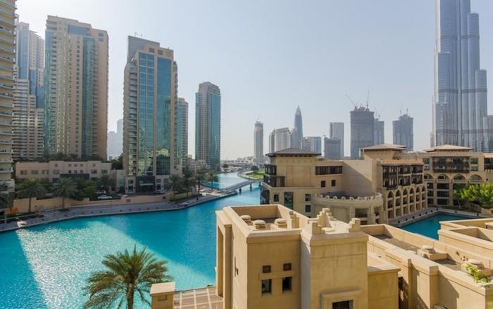 Fountain View 1 BR at Attareen Residences, Old Town, Dubai