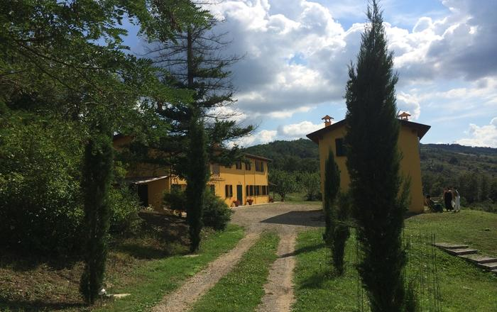 Hilltop Villa Hideaway with Pool Sleeps 10 between Florence and Bologna, Vergato
