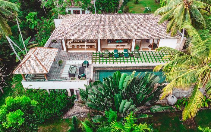 Tropical garden villa close to surf, Weligama Bay