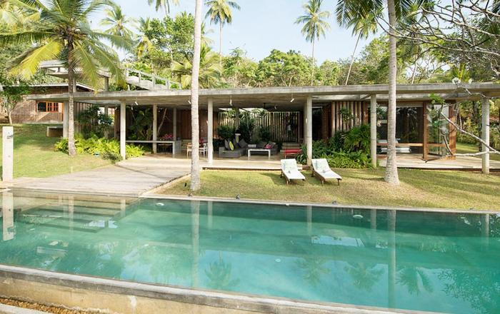 An architectural masterpiece with stunning views, Tangalle