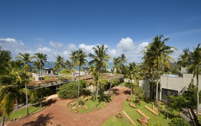 Hill side villa with roof top bar offering 360 views, Mirissa