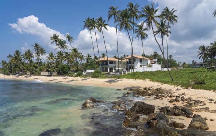 Family beach villa close to Galle, Talpe